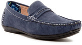 Stacy Adams Park Moc Toe Saddle Slip-On Driver (Wide Width Available)