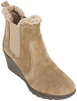 White Mountain Suede Leather Booties - Kickoff