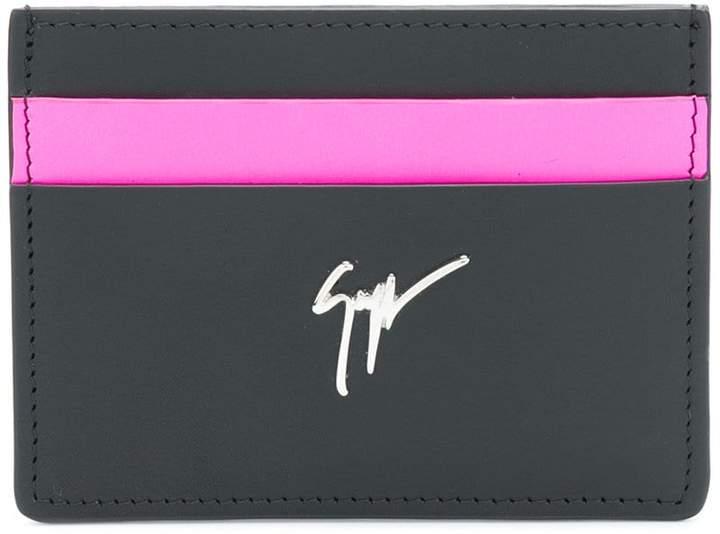 Giuseppe Zanotti Design colourblock card holder