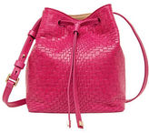 Lodis Palma Blake Small Drawstring Leather Bucket Bag