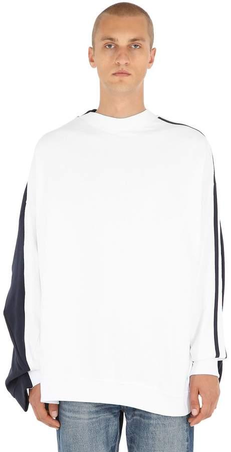 Y/Project Layered Cotton Jersey Sweatshirt