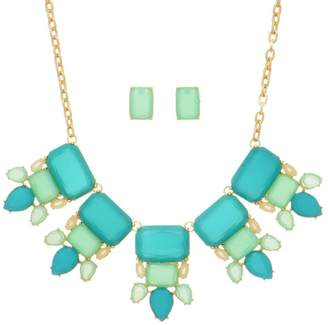 mimis Mimi's Gift Gallery Mint/teal Necklace Set