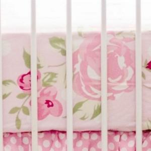 My Baby Sam Rosebud Lane Crib Sheet Bedding
