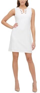 Tommy Hilfiger Avy Textured Embellished Dress