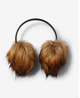 Express faux fur earmuff