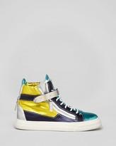 Giuseppe Zanotti Lace Up High Top Sneakers - London