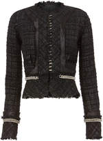Alexander Wang Deconstructed Tweed Jacket