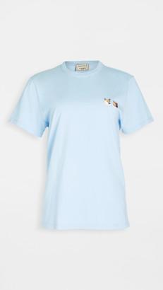 MAISON KITSUNÉ T-Shirt Double Fox Head Patch