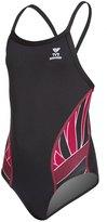 TYR Girls' Phoenix Splice Diamondfit One Piece Swimsuit 8118330