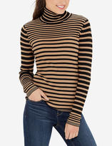 The Limited Striped Turtleneck Pullover