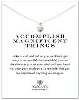 Dogeared 925 Sterling Silver Accomplish Magnificent Things Starburst Necklace of Length 40.46 cm with 5 cm Extender