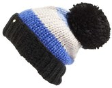 Kate Spade Women's Hand Knit Colorblock Beanie - Blue