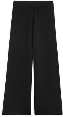 Arket Double-Knit Merino Trousers