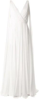 Saiid Kobeisy Long-Length Ruched Gown