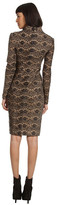 Rachel Roy Sculpted Long Sleeve Dress