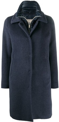 Herno Layered Mid-Length Coat