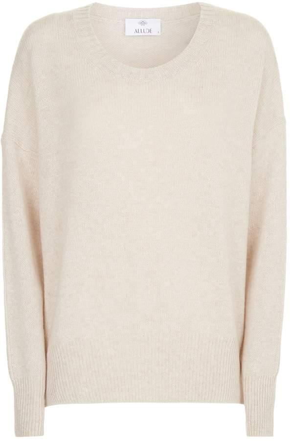 Allude Cashmere Round Neck Sweater