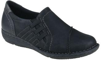 Planet Shoes Watford Black Flat Shoes