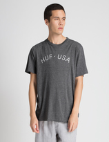 HUF Heather Grey USA T-Shirt