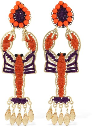 Mercedes Salazar Lobster Clip-on Earrings