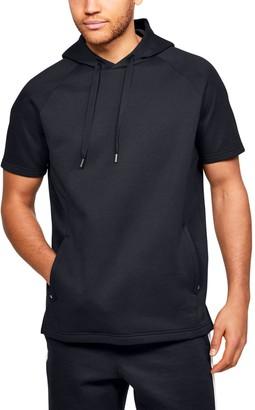 Under Armour Men's UA RECOVER Fleece Short Sleeve Hoodie