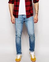Lee Jeans Luke Skinny Fit Summer Soak Bleach Wash