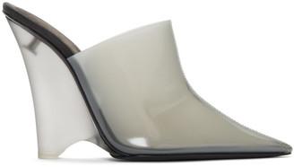 Yeezy Grey PVC Mules