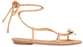 Loeffler Randall Shelly Wrap Leather Sandals
