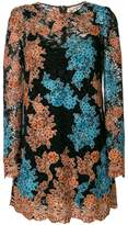 Dolce & Gabbana floral crochet shift dress