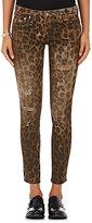 R 13 Women's Kate Skinny Leopard-Print Jeans