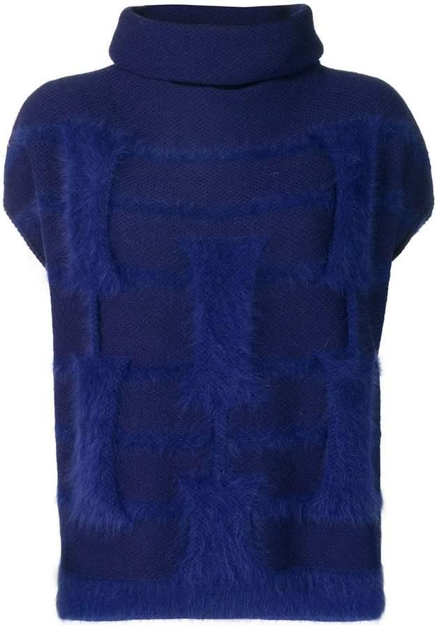 Cruciani roll neck sweater