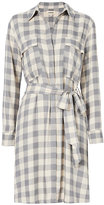 L'Agence Stephanie Gingham Shirtdress