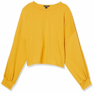 Forever 21 Women's Plus Size Long Sleeve Boxy Top