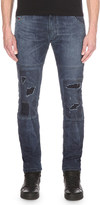 Diesel Krooley 0675z slim-fit tapered jeans