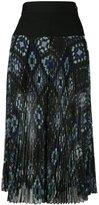Sacai plissé pleated culottes - women - Polyester/Cupro - 2