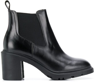 Camper heeled chelsea boots