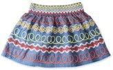 Stella McCartney Girl's Embroidered Nat Skirt