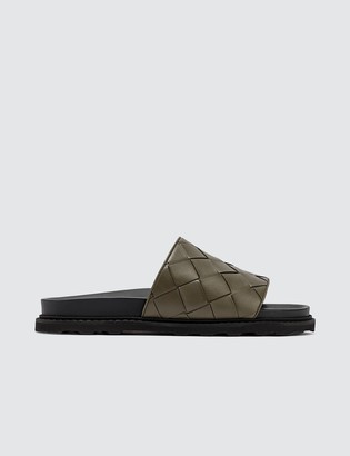 Bottega Veneta Classic Weave Sliders