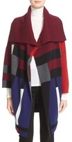 Burberry Halladale Check Knit Wool & Cashmere Wrap