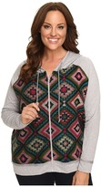 Roper Plus Size The bright Side French Terry Hoodie