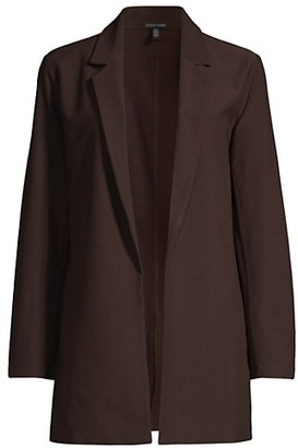Eileen Fisher Shaped Open-Front Jacket