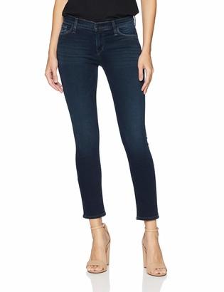 Hudson Women's Tally MID Rise Crop Skinny Leg 5 Pocket Jean