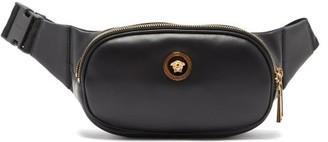 Versace Medusa-hardware Leather Belt Bag - Black