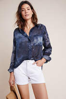 The Cate Classic Tie-Dyed Buttondown