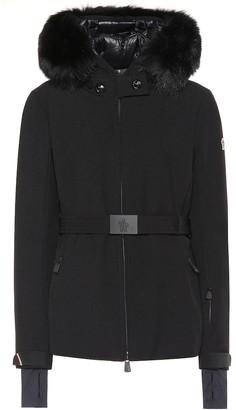MONCLER GRENOBLE Bauges fur-trimmed jacket