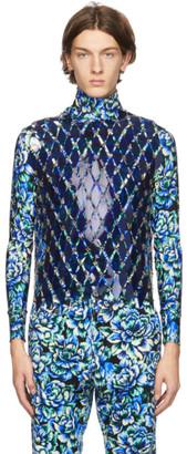 Paco Rabanne Navy Chain Vest