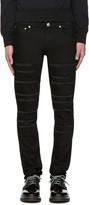 Alexander McQueen Black Night Rider Jeans