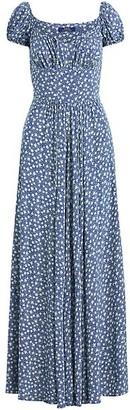 Polo Ralph Lauren Floral Puff-Sleeve Maxi Dress