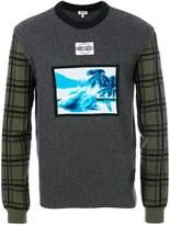 Kenzo Tropical Ice motif sweater