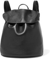 The Row - Textured-leather Backpack - Black
